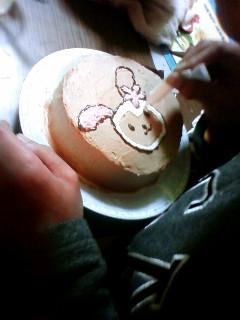 うちのケーキ