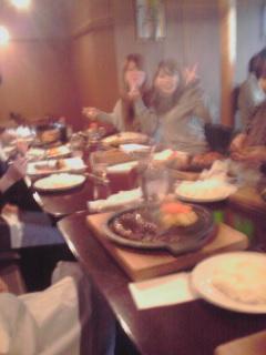 昨日のお食事会!