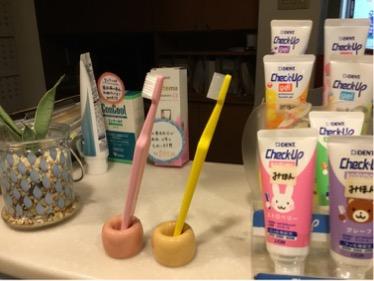 テペの歯ブラシ!!